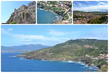 Italien Reise - Sardinien Collage 9 by MoondragonEismond