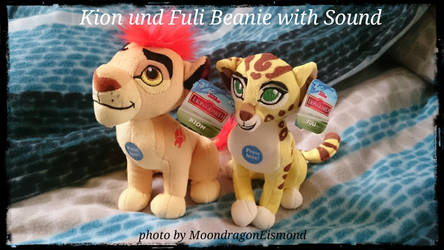Kion and Fuli Beanie by MoondragonEismond