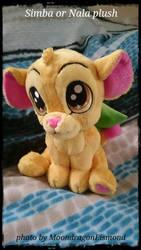 Simba or Nala plush by MoondragonEismond