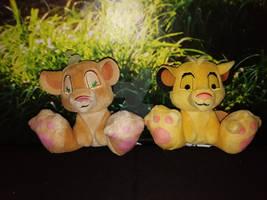 Lion King Little Big Feet Simba and Nala