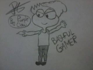 Bashful Gamer by PurpleClaw750
