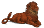 Lioden: Lioness Character Reference by EnvisFury