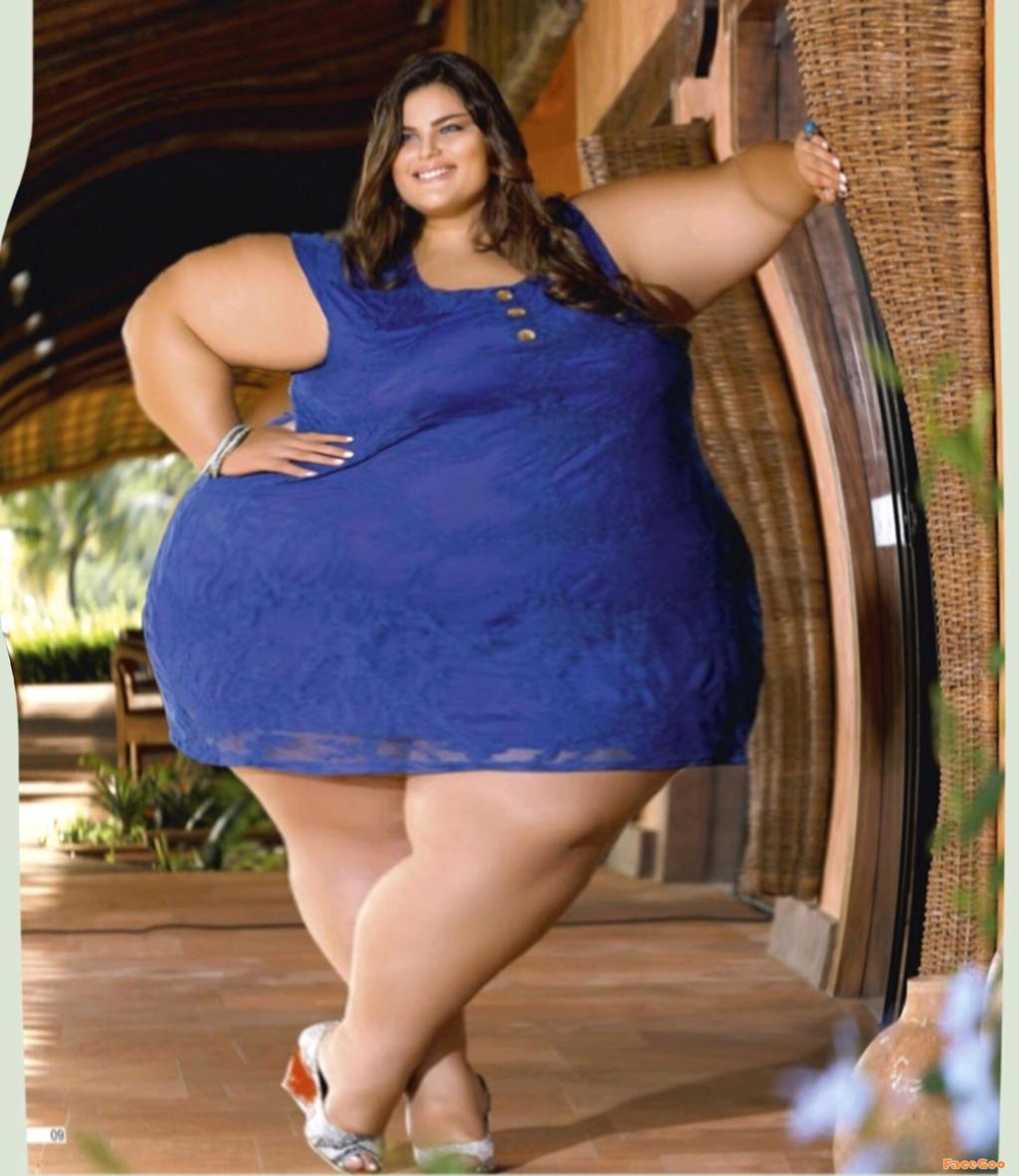 Из галерии супер толстухи фотки