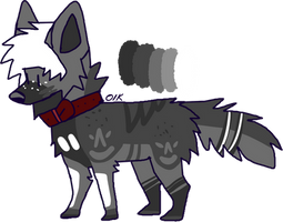 ((CLOSED)) 15 point emo doggo by muttpilot