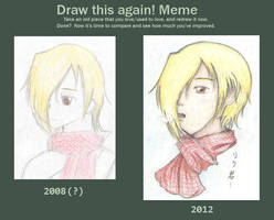 Before and After: Riku-kun by Torikkun