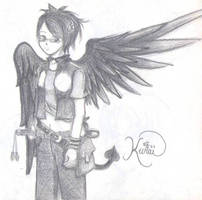 Kurai: Black Angel Redo by Torikkun