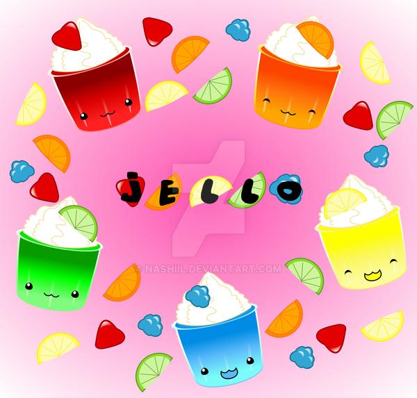 Jello Cups by Nashiil