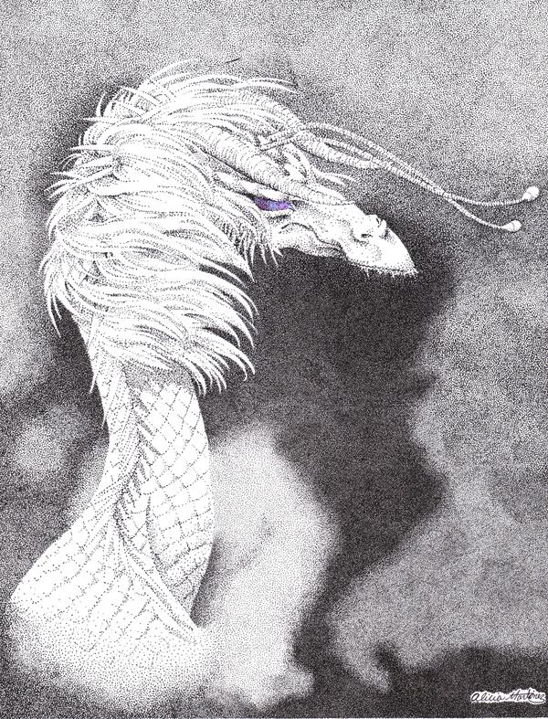 Dragon - Jenny Waynest by Nashiil