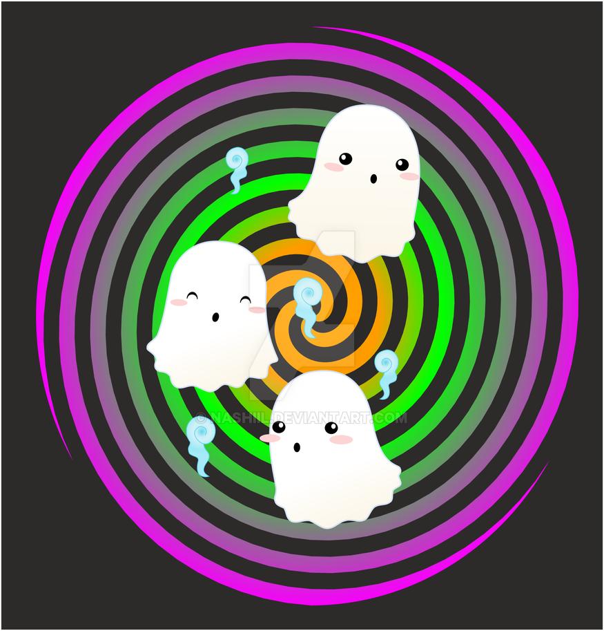 Ghosties by Nashiil