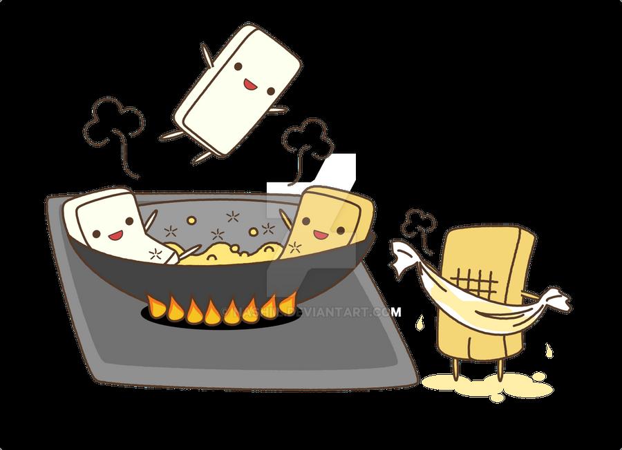 Fried Tofu 2 by Nashiil