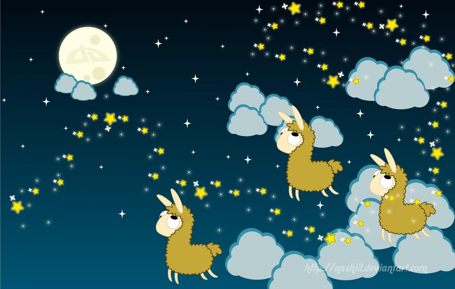 Llama Favs Wallpaper By Nashiil