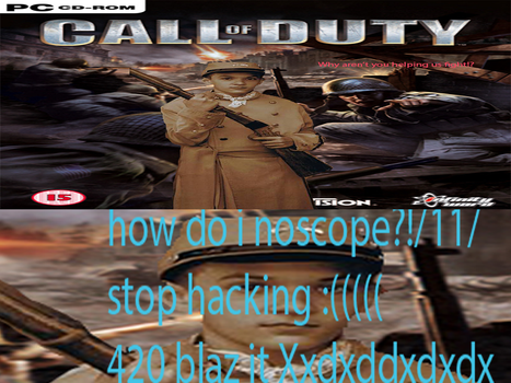 Call of duty ME ME XDDDXXDXDLELELE