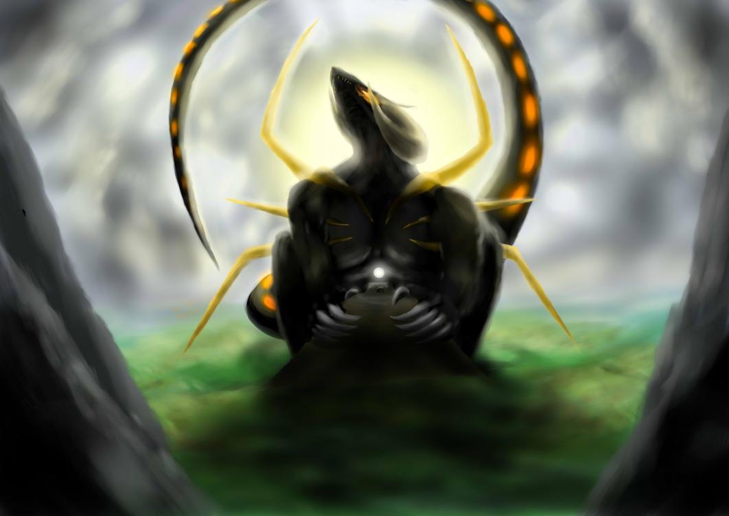 Sun dragon by ThemeFinland