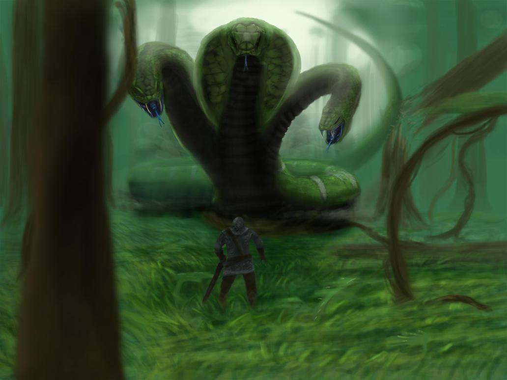 Big ass snakes