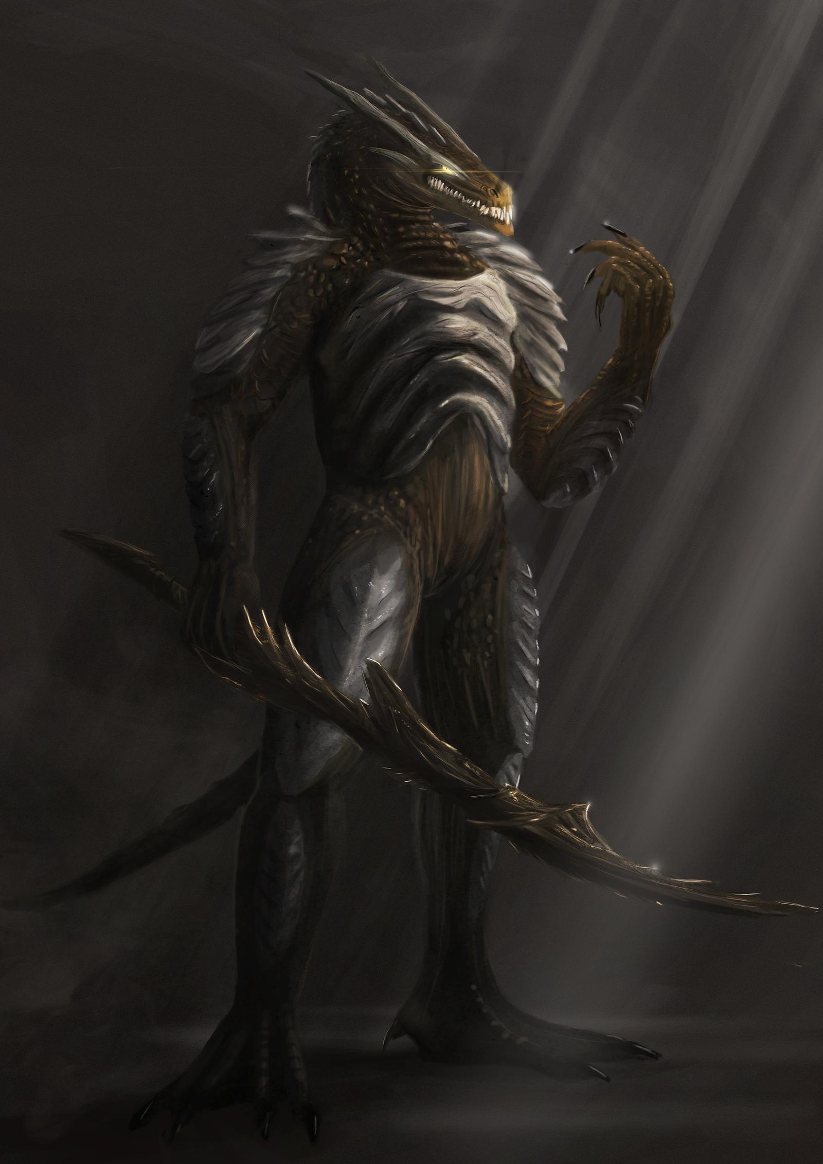 Dragon elements of dark souls 2: Raw by ThemeFinland on DeviantArt