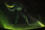 Dragon elements of dark souls 2: Poison by ThemeFinland