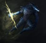 Dragon elements of dark souls 2: Lightning by ThemeFinland