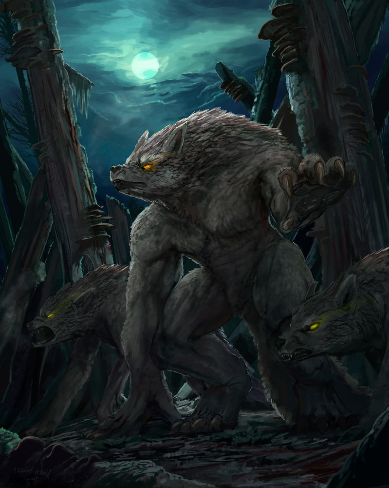 Werewolves of Burgenwehr by ThemeFinland