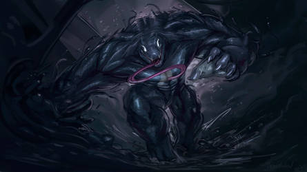 Symbiote (commission) by ThemeFinland