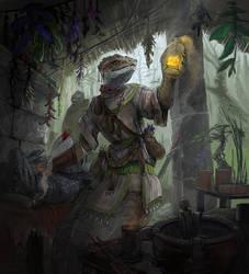 Naphas alchemist (Glimpse of Luna trading card) by ThemeFinland
