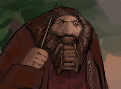 Harry Potter Ps1 Hagrid Retexture Remaster UltraHd