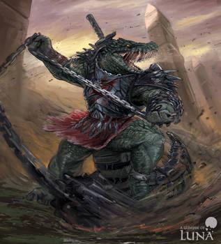 Crocodile berserker by ThemeFinland