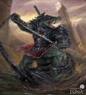 Crocodile berserker