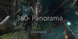 Naphas swamp shrine 360-panorama