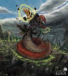 Naga geomancer
