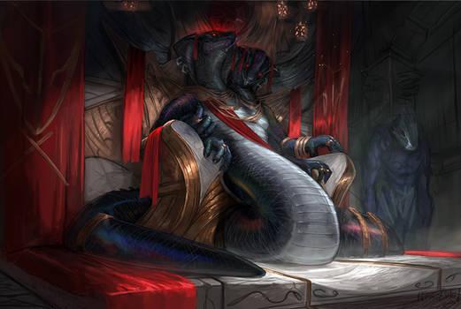 Ssalysins chamber (commission) by ThemeFinland