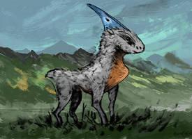 Baby ash plains strider by ThemeFinland