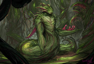 keeper of the corrupted coppice by ThemeFinland