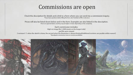 Commissions are open by ThemeFinland