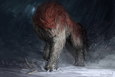Stalker wolf [commission] by ThemeFinland