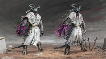 Albino psion [commission] by ThemeFinland