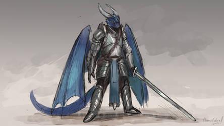 Dragonborn warrior [patreon] by ThemeFinland