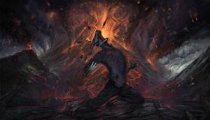 Wail of despair [commission]