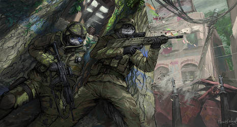 Urban warfare [commission] by ThemeFinland