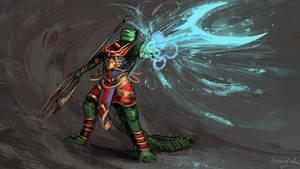 Lizardfolk cleric [patreon]