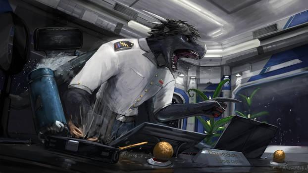 Reprimand [commission]