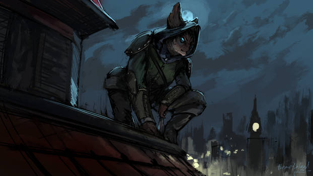 Rooftop stakeout [patreon]