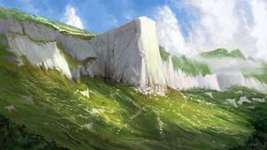 White citadel rock