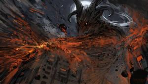 Pazuzus rage [commission]