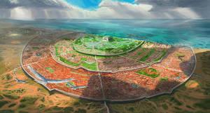 The holy city of Setara [commission]