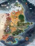 Map of Lyboria [commission]