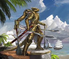 Divine Imperator Aiur [commission]