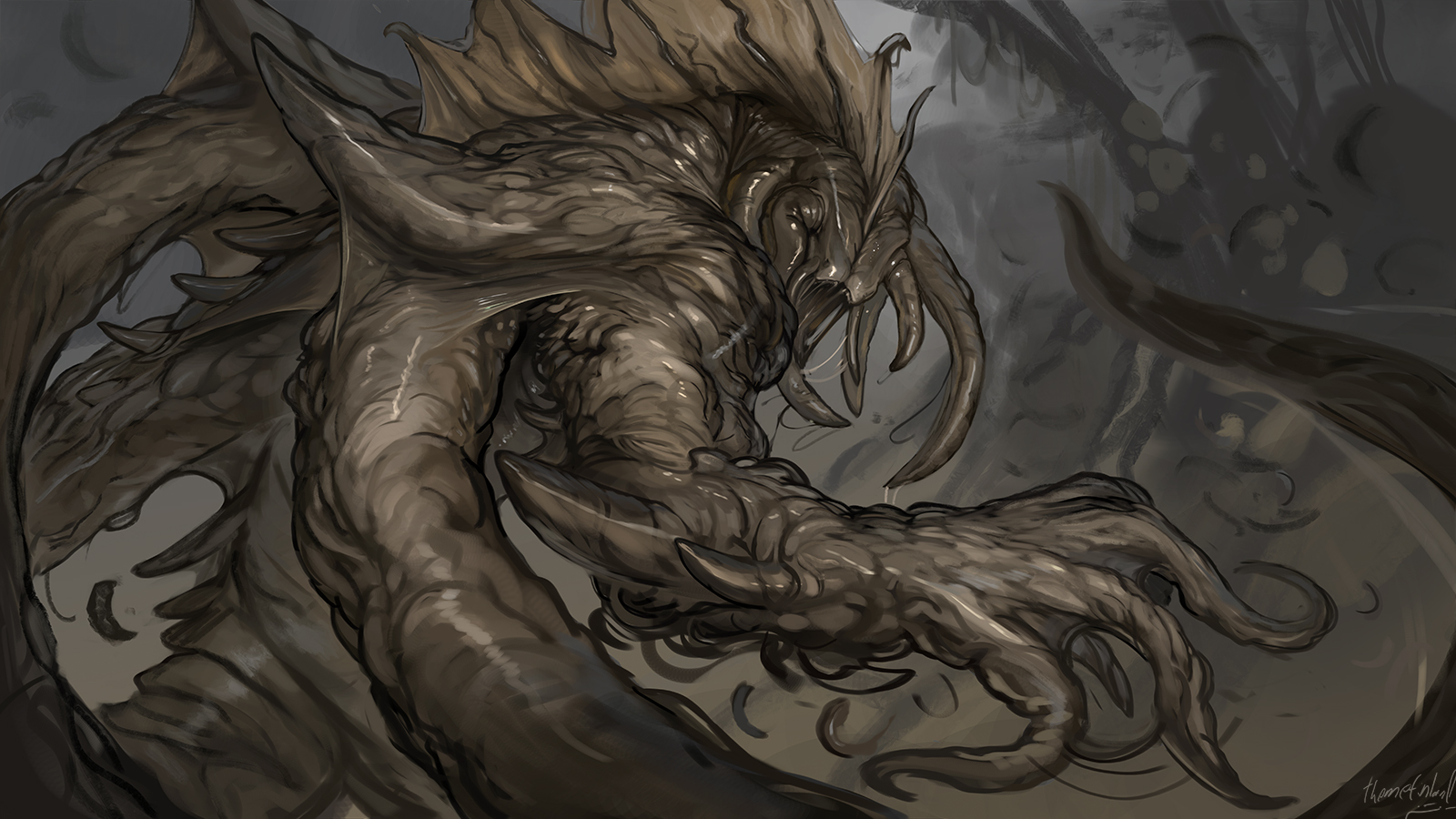 Larval horror [commission]