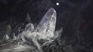 Working in the salt mine
