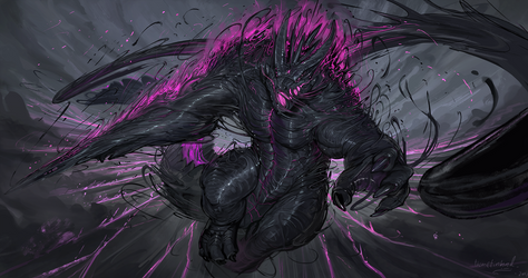 Netherified krawgles [commission]