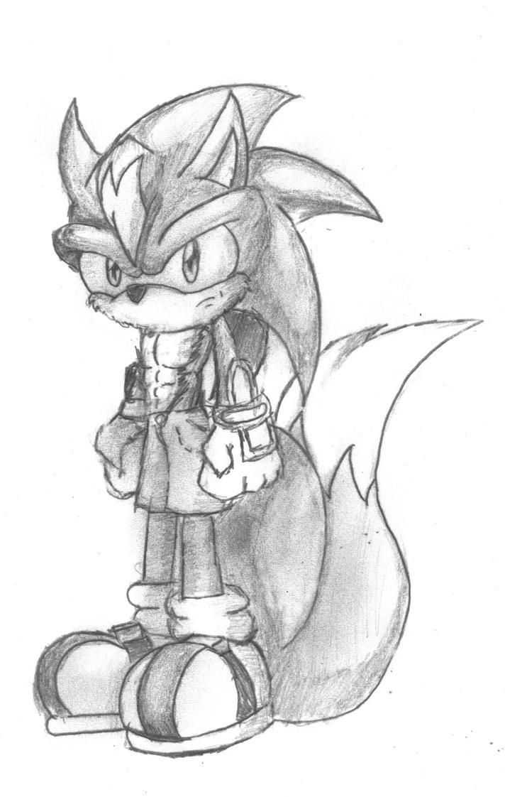 Andre Quick-Sketch by Destro-the-Dragon